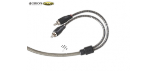 ORCPR (1.5ft PRO Series Right Angle RCA Side/Side Twisted Pair)