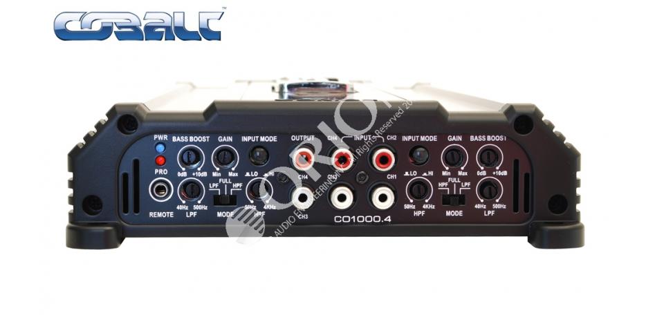 Orion CB1000.4 Cobalt Series 4 Channel Amplifier