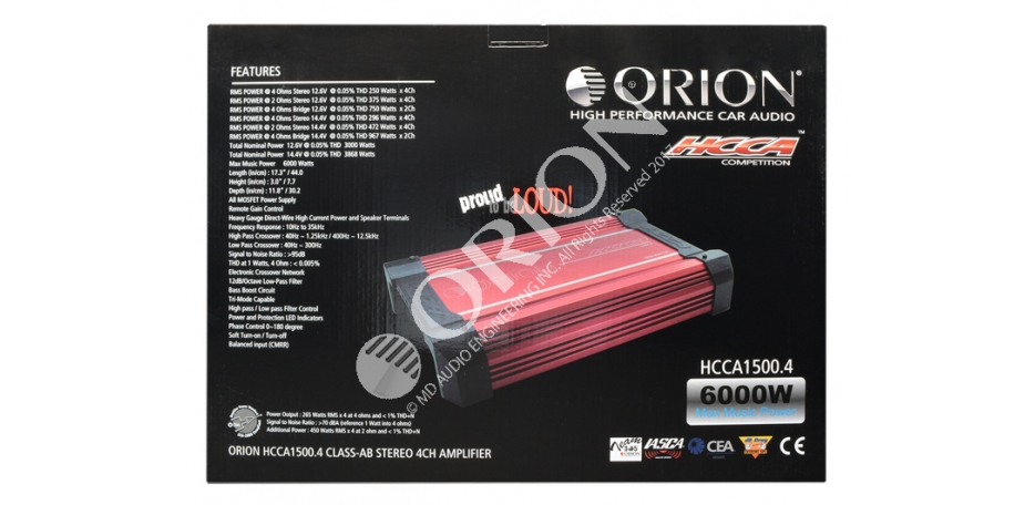 hcca 15004 hcca 1500 4 orion car audio 4 Channel Amp Wiring Diagram at eliteediting.co